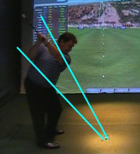 Video analysis golf lessons